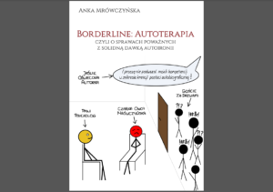 okładka książki anki mrówczyńskiej borderline autoterapia