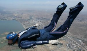 strzała skydiving