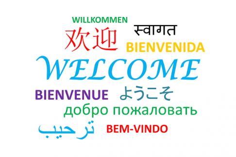 słowo zapraszam w różnych językach